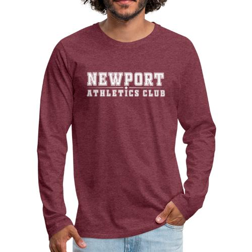 Newport Athletics Club official wear - Men's Premium Longsleeve Shirt