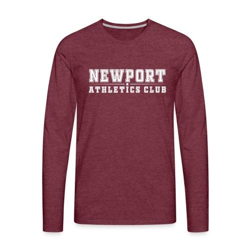 Newport Athletics Club official wear - Men's Premium Longsleeve Shirt