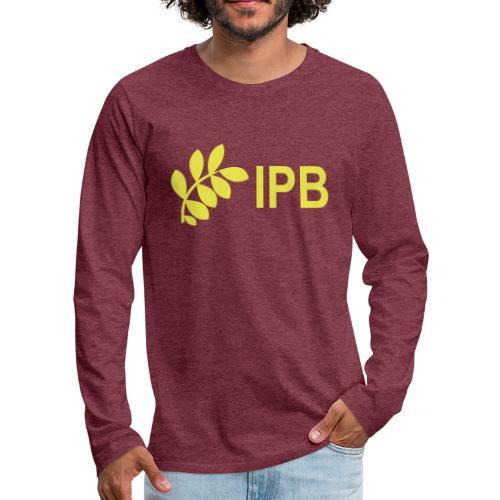 International Peace Bureau IPB version 4 - Men's Premium Longsleeve Shirt