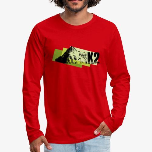 K2 - Men's Premium Longsleeve Shirt