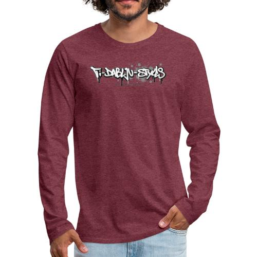 ti-dablju-styles_Logo - Männer Premium Langarmshirt