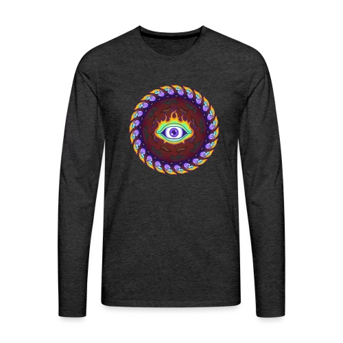 Third Eye R - Men's Premium Longsleeve Shirt