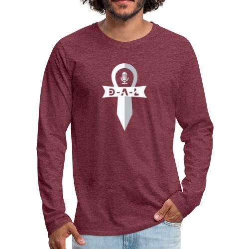D-A-L LOGO - Långärmad premium-T-shirt herr