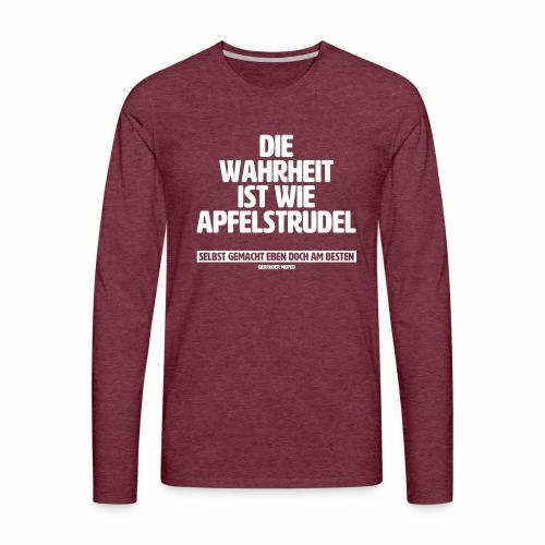 Wahrheit - Männer Premium Langarmshirt