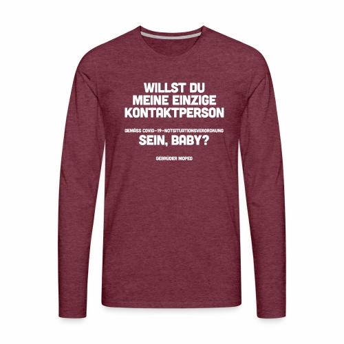 Kontaktperson - Männer Premium Langarmshirt