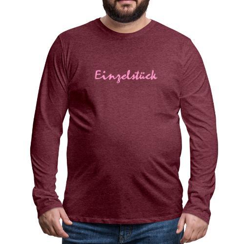 1003 Einzelstück - Männer Premium Langarmshirt