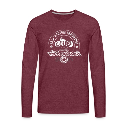 M049 - T-shirt manches longues Premium Homme