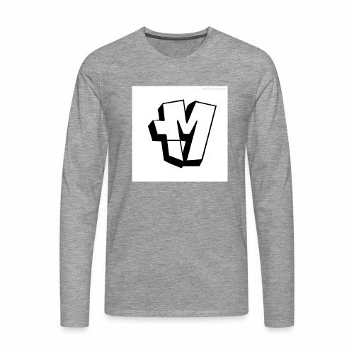graffiti alphabet m - Men's Premium Longsleeve Shirt