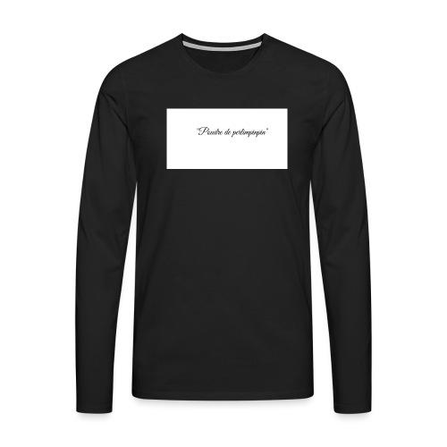 Happy - T-shirt manches longues Premium Homme