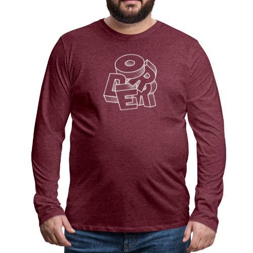 Order - Långärmad premium-T-shirt herr