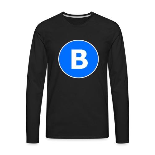 BluePrison - Herre premium T-shirt med lange ærmer