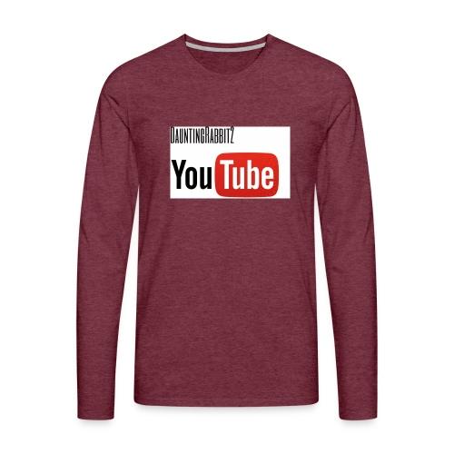 DauntingRabbit2 - Långärmad premium-T-shirt herr