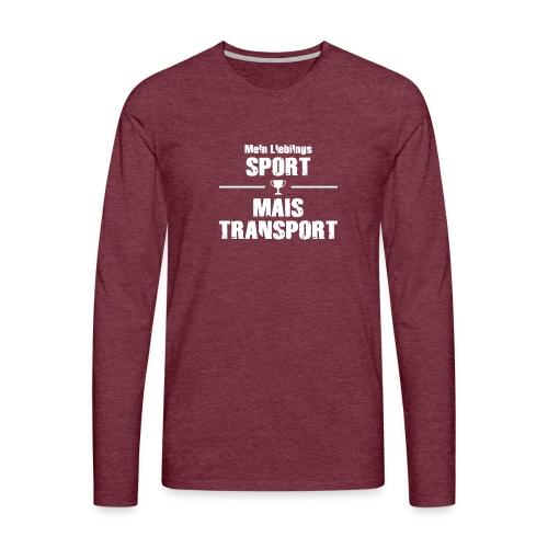 maistransport w - Männer Premium Langarmshirt