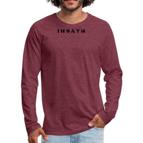 I n s a y n - T-shirt manches longues Premium Homme
