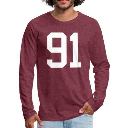 91 SPITZER Kevin - Männer Premium Langarmshirt