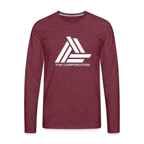 wit metnaam keertwee png - Men's Premium Longsleeve Shirt