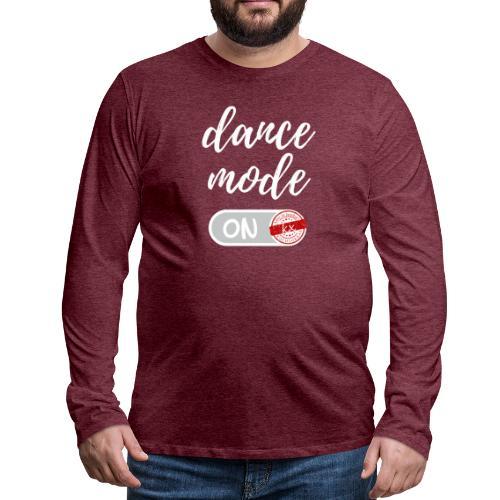dance mode w - Männer Premium Langarmshirt