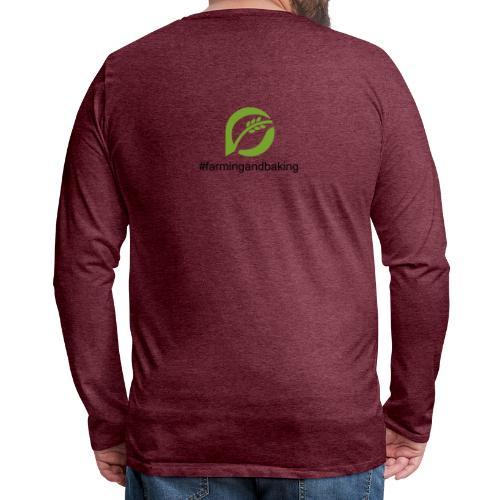 farmingandbaking_logogruen - Männer Premium Langarmshirt