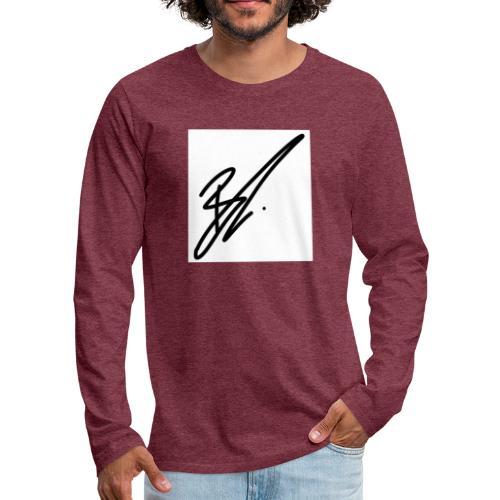 coole moderneres Zeichen zu einem super preis - Männer Premium Langarmshirt