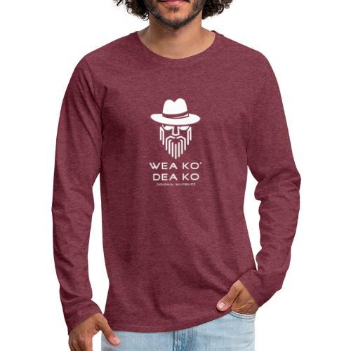WUIDBUZZ | Wea ko, dea ko | Männersache - Männer Premium Langarmshirt