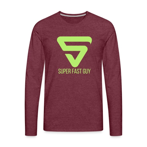 Super Fast Guy - T-shirt manches longues Premium Homme