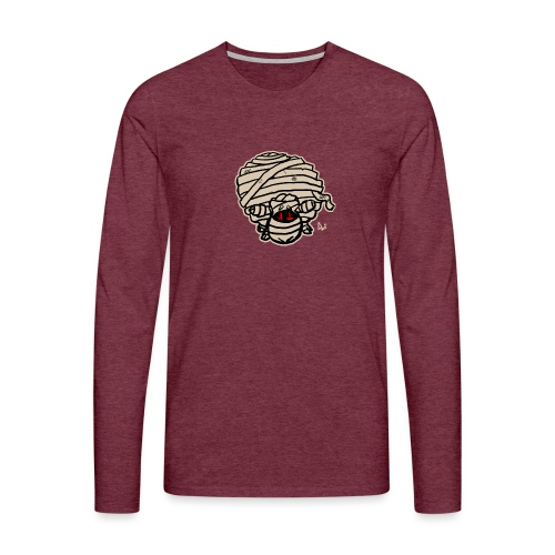 Mummy Sheep - Männer Premium Langarmshirt