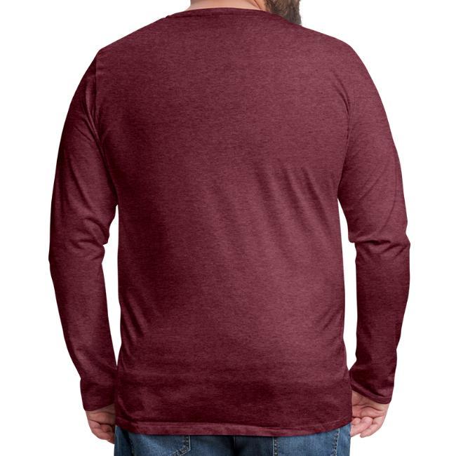 Vorschau: A Watschn is schnö gschmiat - Männer Premium Langarmshirt