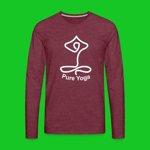 Pure Yoga - Mannen Premium shirt met lange mouwen