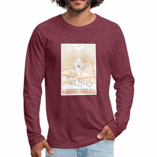 Planète Vénus - T-shirt manches longues Premium Homme