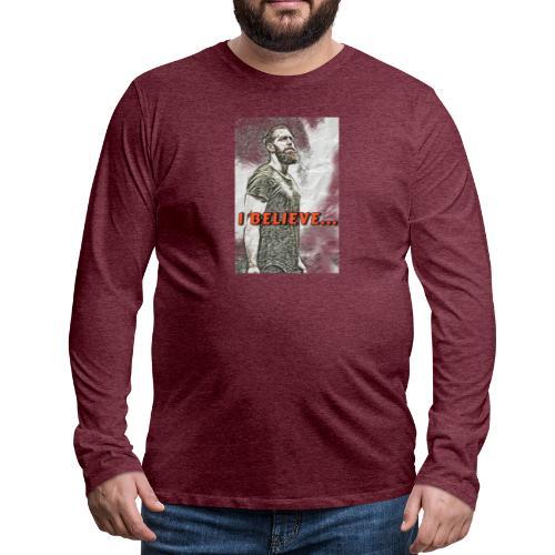 18561959 BEDF 45CA 8B9E E9133B9108D9 - Herre premium T-shirt med lange ærmer