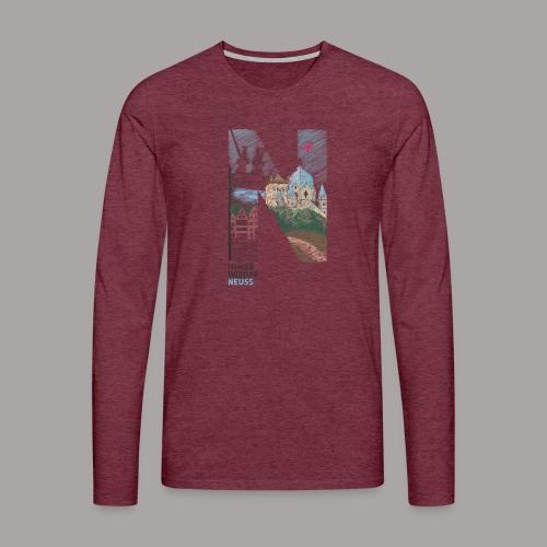 Immer wieder Neuss Tshirt für Kinder von MaximN - Männer Premium Langarmshirt