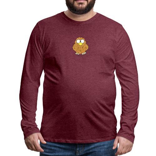 Niki Owl - Men's Premium Longsleeve Shirt