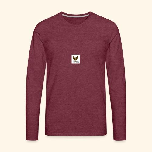 feeniks logo - Miesten premium pitkähihainen t-paita