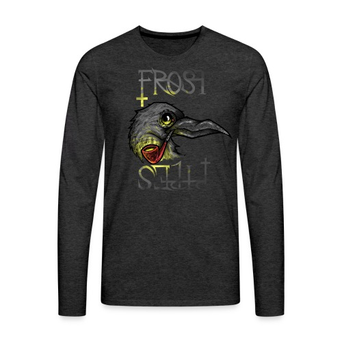 Frost Pipes Crow - Men's Premium Longsleeve Shirt