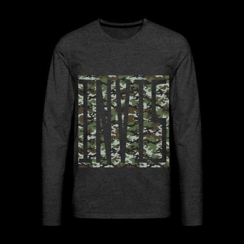 INVIS Camouflage - Männer Premium Langarmshirt