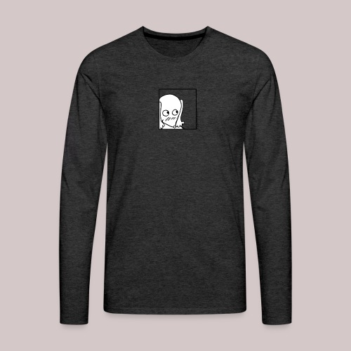 Timida - Maglietta Premium a manica lunga da uomo