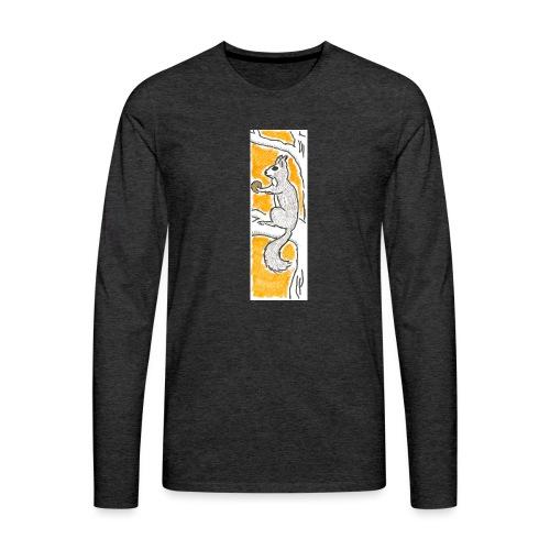 scoiattolo_alma_2015 - Maglietta Premium a manica lunga da uomo