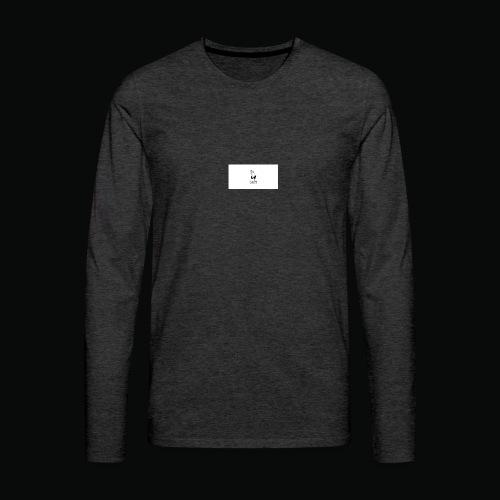 bafti long sleeve tee - Herre premium T-shirt med lange ærmer