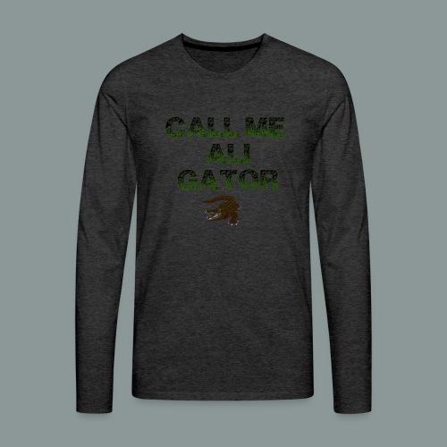 aligator2 - Männer Premium Langarmshirt
