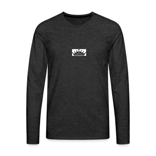 krone-2_einzeln - Mannen Premium shirt met lange mouwen