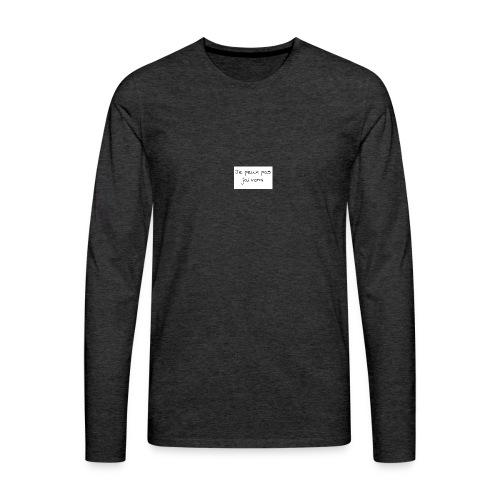 jaivomi - T-shirt manches longues Premium Homme