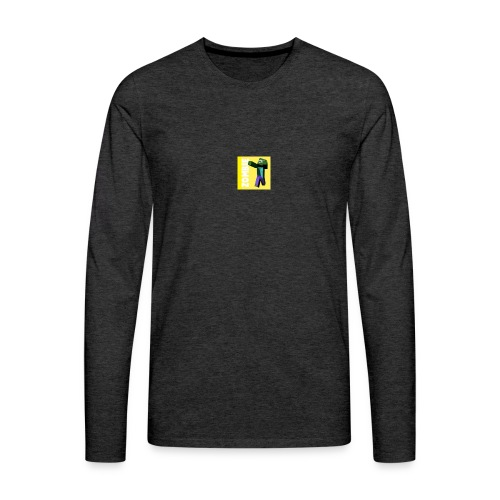 Zombie Gamer 89 - Tshirt - Maglietta Premium a manica lunga da uomo