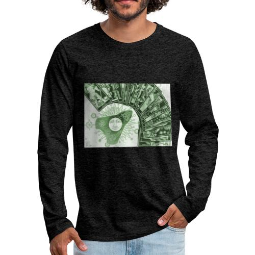 L'evidenza occulta - Maglietta Premium a manica lunga da uomo