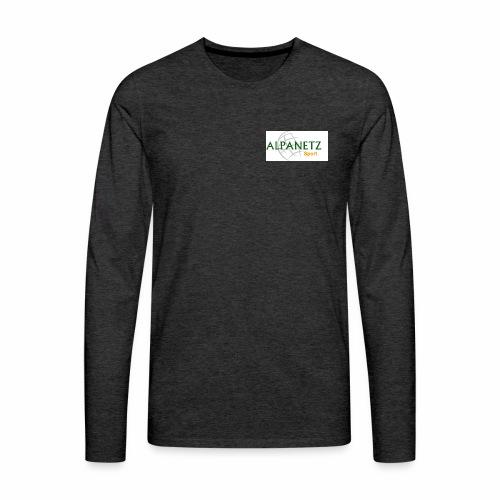 Alpanetz Logo Sport - Männer Premium Langarmshirt