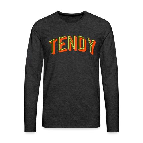 Hockey Goaltender - Tendy - Men's Premium Longsleeve Shirt