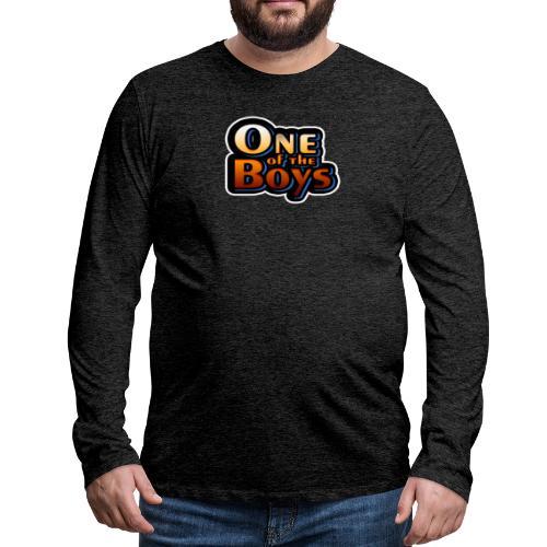 One of the Boys - Miesten premium pitkähihainen t-paita