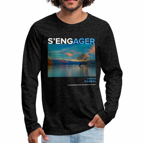 1 Achat = 1 Don Fondation Yann Arthus-Bertrand - T-shirt manches longues Premium Homme