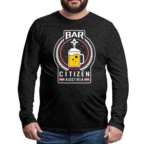 BarCitizenAustria Logo - Männer Premium Langarmshirt