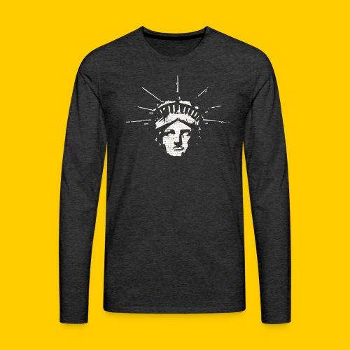 Freedoom Independance - Långärmad premium-T-shirt herr