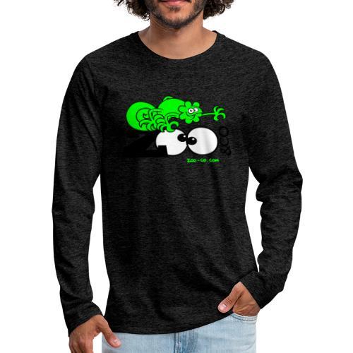 Zooco Chameleon - Men's Premium Longsleeve Shirt